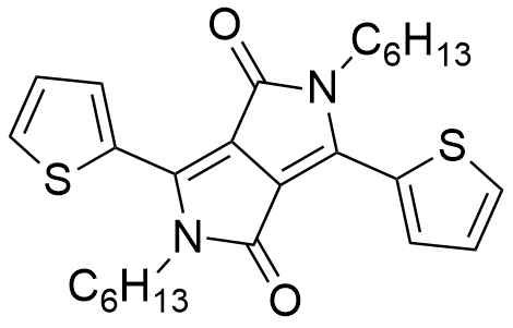 2,5-dihexyl-3,6-di(thiophen-2-yl)pyrrolo[3,4-c]pyrrole-1,4(2H,5H)-dione