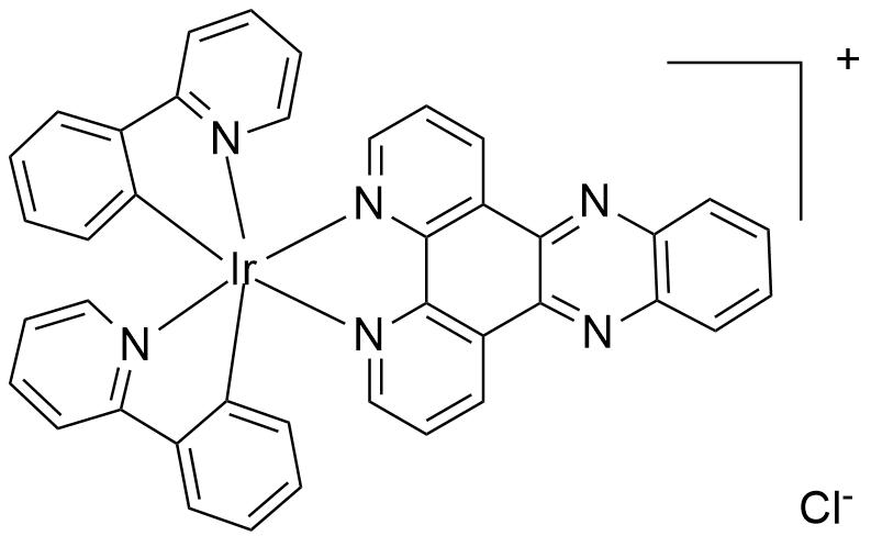 Bis(2,2'-bipyridyl)(4,5,9,14-Tetraaza-benzo[b]triphenylene)iridium(III) dichloride