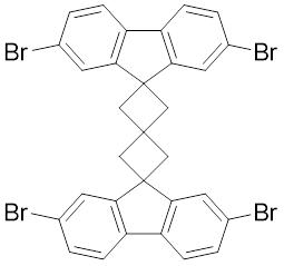 Spiro[3.3]heptane, 2,6-bis(2,7-dibromo-9H-fluorene)-