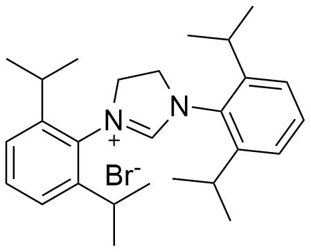 1,3-Bis[2,6-bis(1-methylethyl)phenyl]-4,5-dihydro-1H-imidazolium bromide