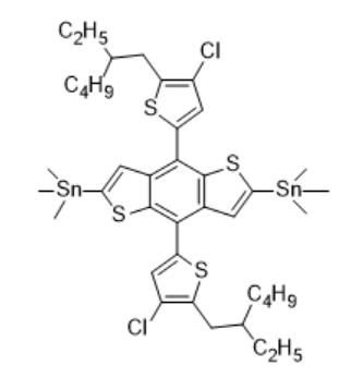 (4,8-Bis(4-chloro-5-(2-ethylhexyl)thiophen-2-yl)benzo[1,2-b:4,5-b']dithiophene-2,6-diyl)bis(trimethylstannane)