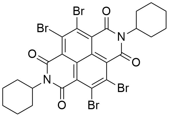 4,5,9,10-Tetrabromo-2,7-dicyclohexylbenzo[lmn][3,8]phenanthroline-1,3,6,8(2H,7H)-tetraone