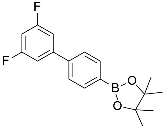 2-(3',5'-Difluoro-[1,1'-biphenyl]-4-yl)-4,4,5,5-tetramethyl-1,3,2-dioxaborolane