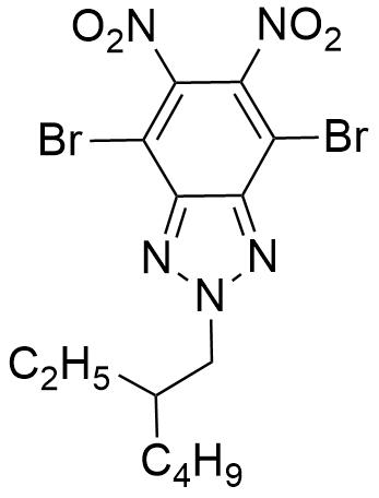 4,7-Dibromo-2-(2-ethylhexyl)-5,6-dinitro-2H-benzo[d][1,2,3]triazole