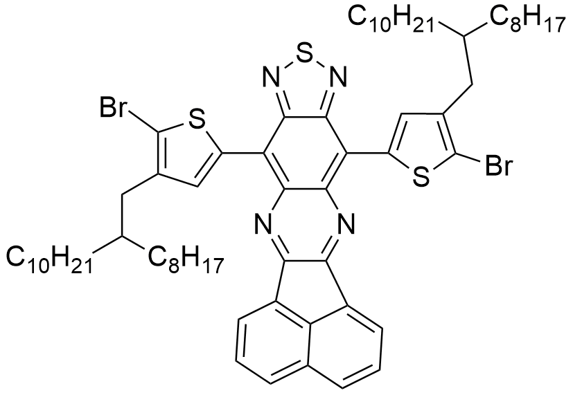 8,12-Bis(5-bromo-4-(2-octyldodecyl)thiophen-2-yl)acenaphtho[1,2-b][1,2,5]thiadiazolo[3,4-g]quinoxaline