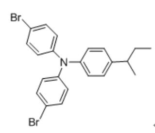 4-Bromo-N-(4-bromophenyl)-N-(4-(sec-butyl)phenyl)aniline