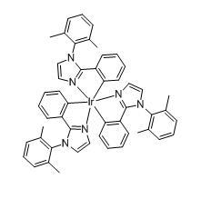 Tris[1-(2,6-dimethyl phenyl)-2-phenyl-1H-imidazole-C2,N] iridium(III)