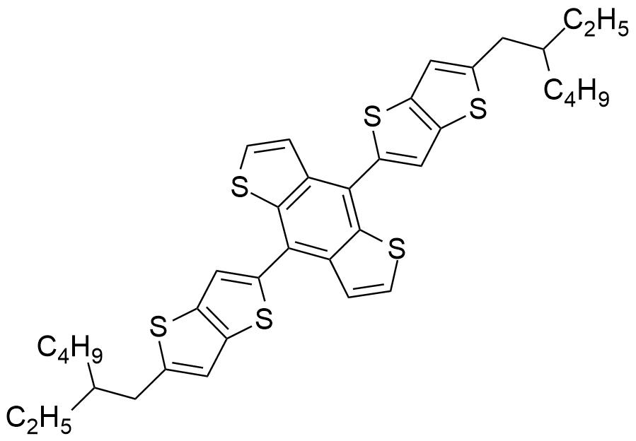 4,8-Bis(5-(2-ethylhexyl)thieno[3,2-b]thiophen-2-yl)benzo[1,2-b:4,5-b']dithiophene
